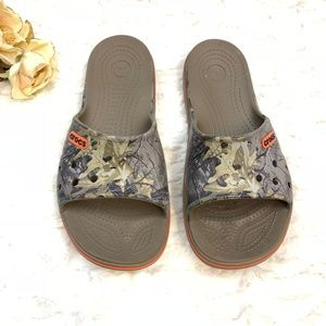 Crocs Unisex Camo Slides Sandal